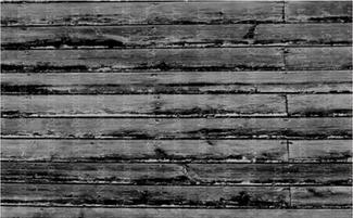 Grey/Black Wood Floor