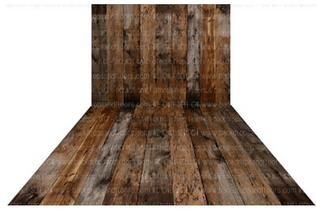 Rustic Wood Backdrop & Floor