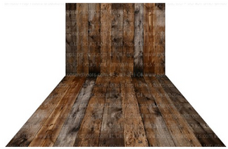Rustic Wood Backdrop & Floor