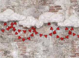 Valentine Brick Wall