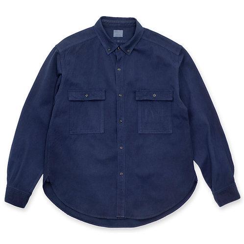 Work shirt dark indigo