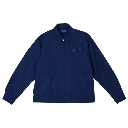 Work jacket dark indigo