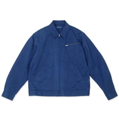 Work jacket indigo