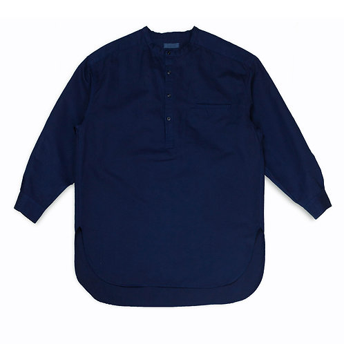 Henley neck shirt