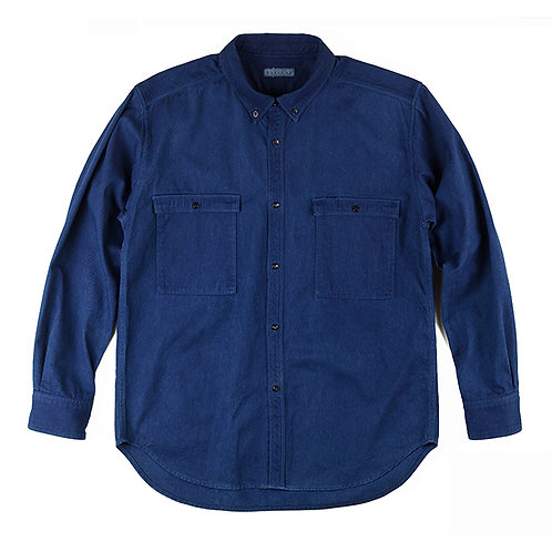 Work shirt indigo