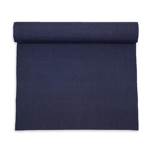 Ramie fabric dark indigo