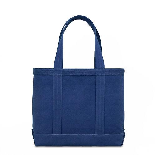 canvas tote bag m / indigo