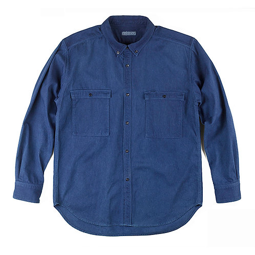 Work shirt light indigo
