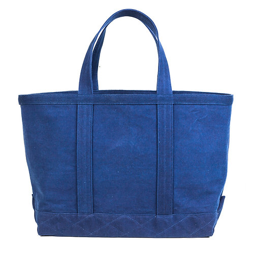 canvas tote bag l all indigo
