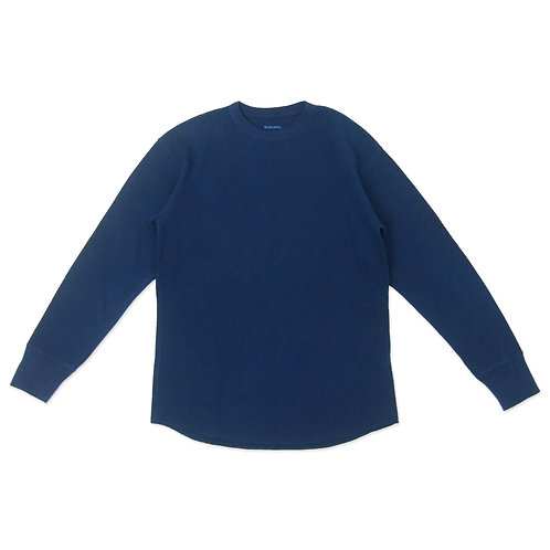 Thermal long sleeve indigo