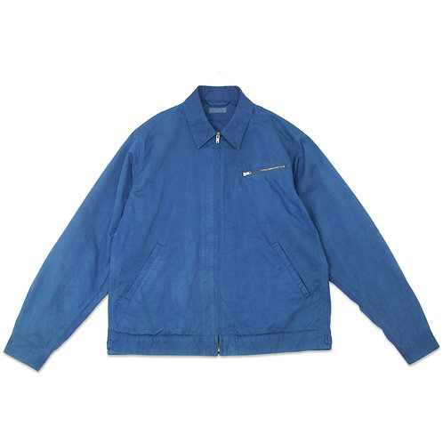Work jacket light indigo