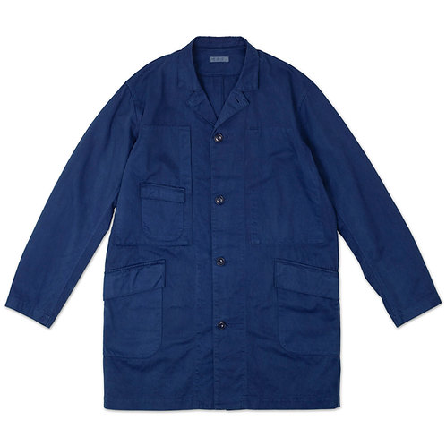 Work coat indigo