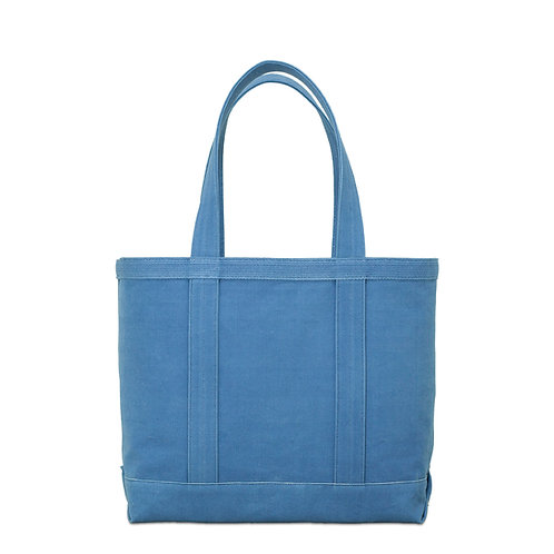 canvas tote bag m / light indigo