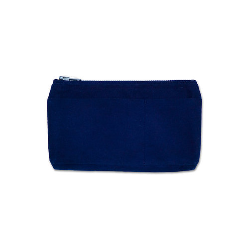 canvas mini pouch dark indigo
