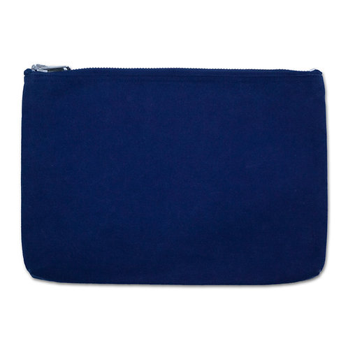 canvas pouch dark indigo