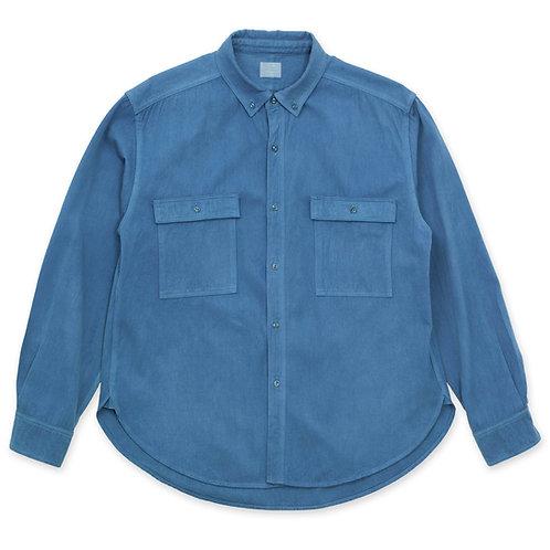 Work shirt light indigo