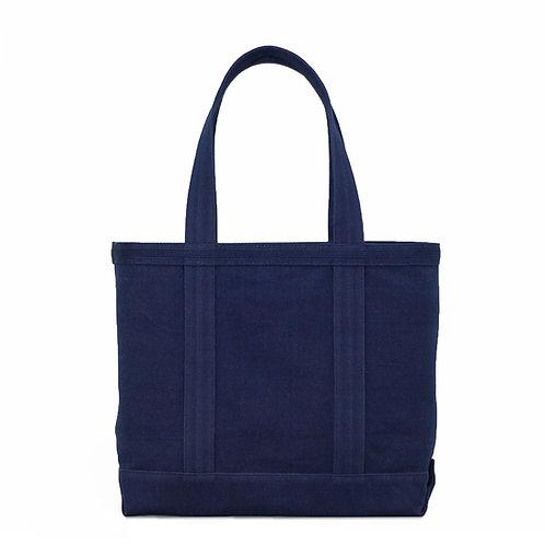 canvas tote bag m / dark indigo