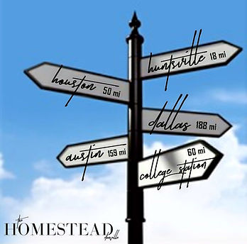 Directions to The Homestead from Major Cities