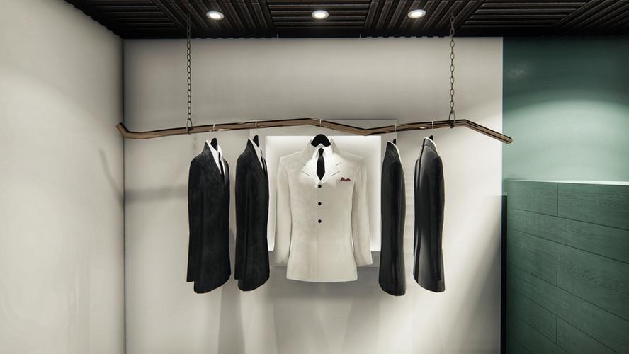 The Retreat Tux/Suit Hanging Station