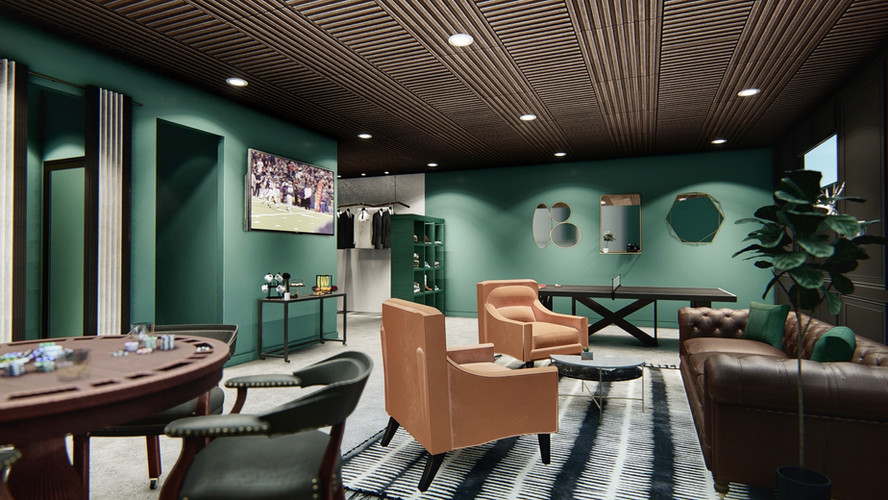 The Retreat Entertainment Suite