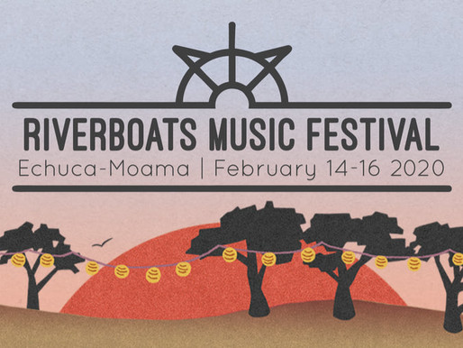 RIVERBOATS MUSIC FESTIVAL 2020 lineup is here!