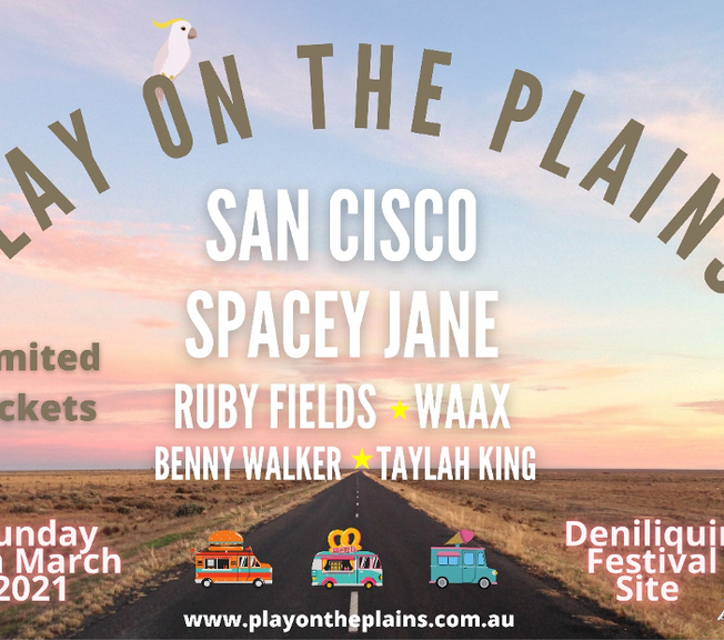 PLAY ON THE PLAINS set to light up the southern sky this March!