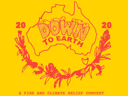 DOWN TO EARTH to be live streamed on YouTube from Sidney Myer Music Bowl