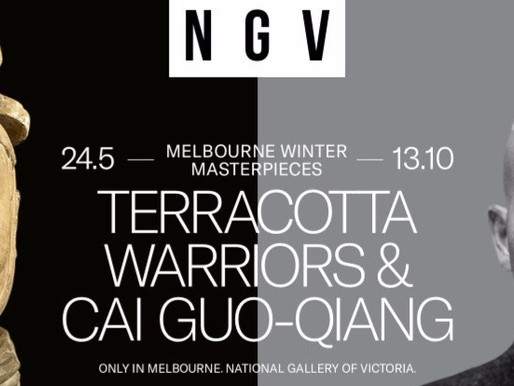 Melbourne Winter Masterpieces: Terracotta Warriors | Cai Guo-Qiang - NOW OPEN AT NGV Melbourne