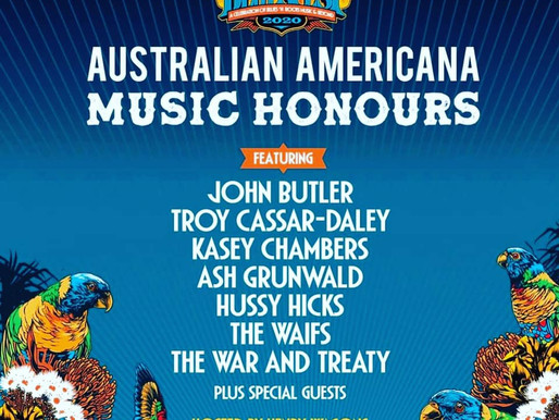 Australian Americana Music Honours at Bluesfest 2020