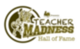Teacher Madness Logo HOF.png