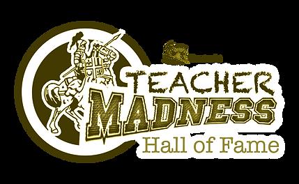 Teacher Madness Logo HOF.png