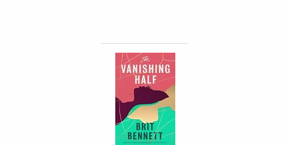 Zoom - Book Club - The Vanishing Half