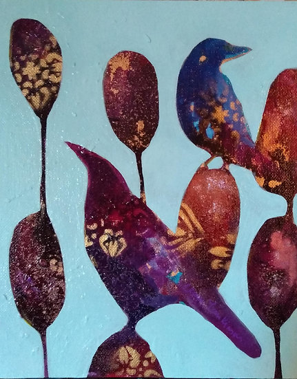 Bird Blooms- Partnership