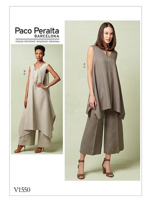 Vogue V1550 Tunika & Hose by Paco Peralta