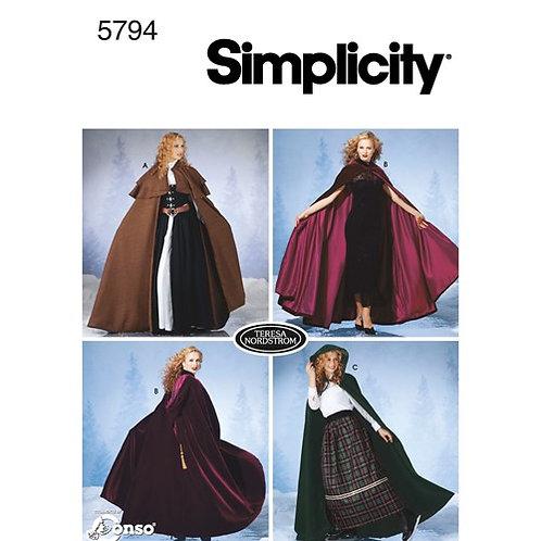 Simplicity 5794 Damen - Cape