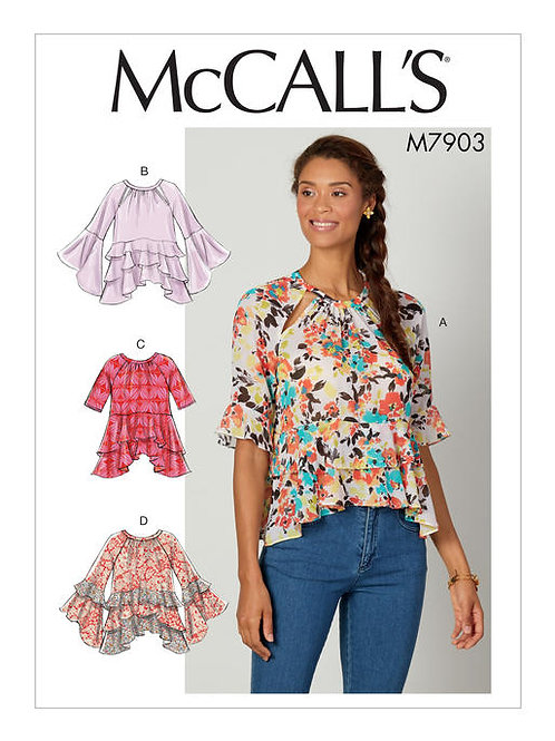 McCall's 7903 lockere Bluse