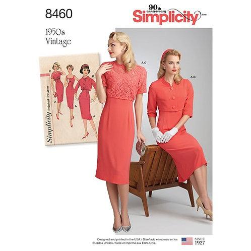 Simplicity 8460 Vintage Etuikleid & Jacke