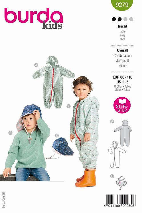 Burda 9279 Overall für Kleinkind