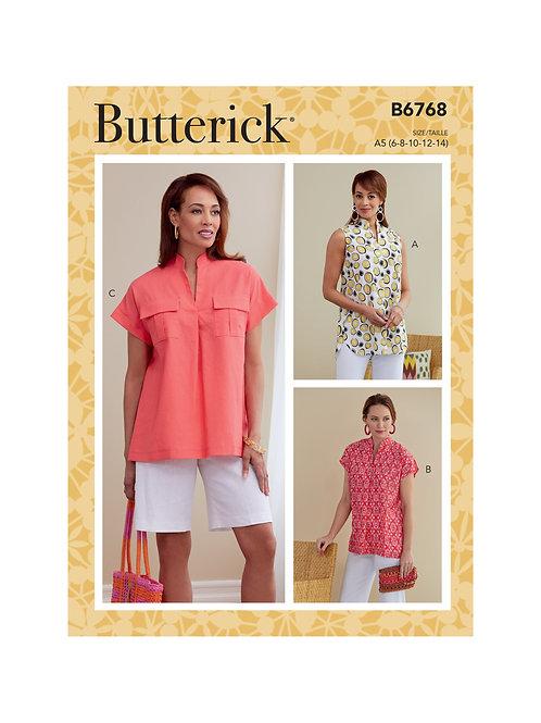 Butterick B6768 Bluse
