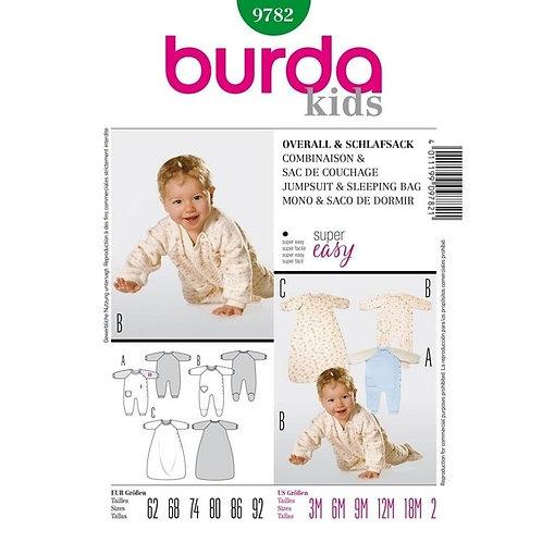 Burda 9782 Overall & Schlafsack