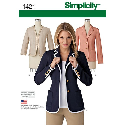 Simplicity 1421 Blazer