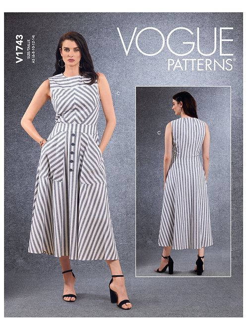 Vogue V1743 Sommerkleid