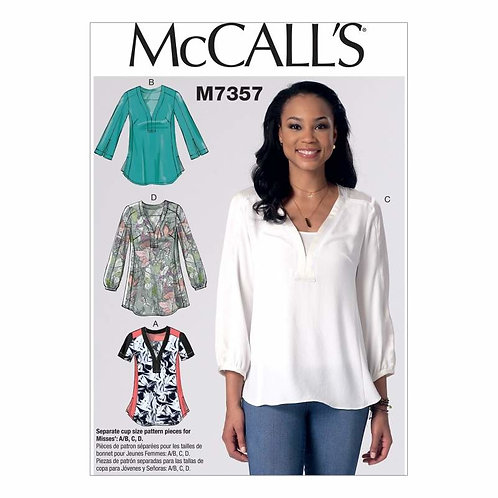 McCall's 7357 lockeres Shirt