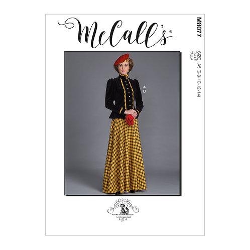 McCall's 8077 Historisches Kostüm