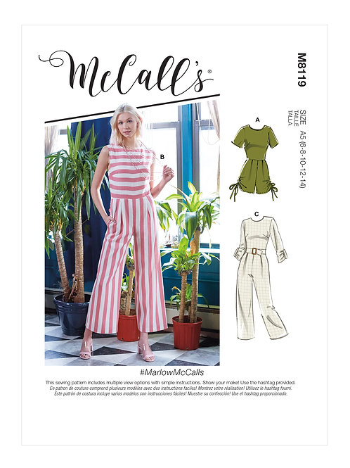 McCall's 8119 Overall