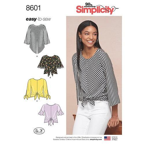 Simplicity 8601 Damenbluse