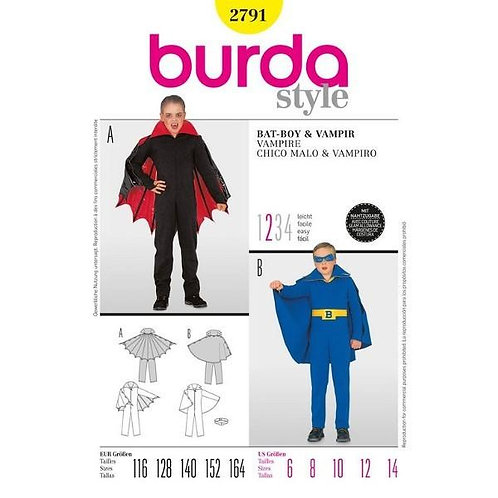 Burda 2791 Vampier & Bad-Boy