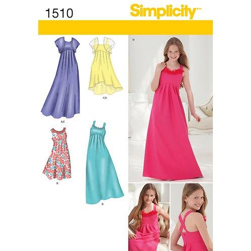 Simplicity 1510 Mädchenkleid