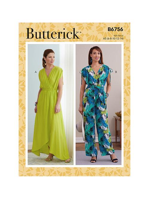 Butterick B6756 Kleid oder Overall