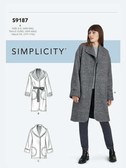 Simplicity 9187 Mantel